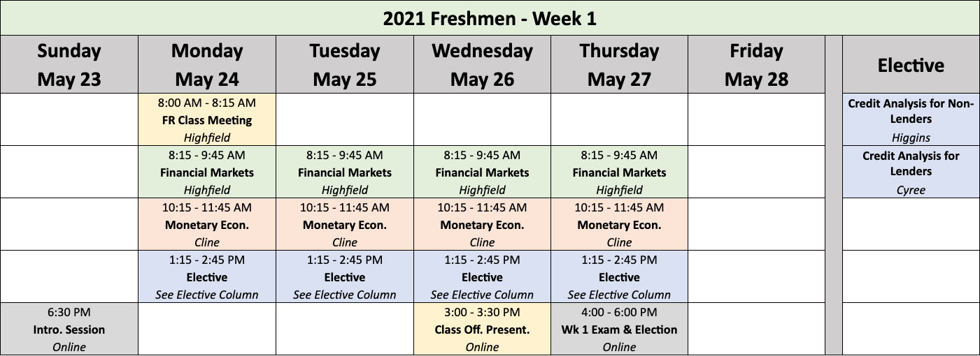 Lsu 2022 Academic Calendar.Graduate School Of Banking Classes Gsblsu Class Schedules